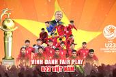 HLV Park Hang- seo, U-23 VN được 'Vinh danh Fair Play'