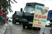 Đà Nẵng: Dân chặn đường vào mỏ đất, đá vì quá bụi