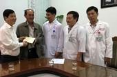 Thứ trưởng Bộ Công an thăm sinh viên bị nạn trên đèo Hải Vân