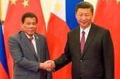Ông Duterte: Ông Tập dọa chiến tranh trên biển Đông