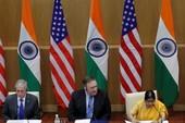 Hai ông Mattis, Pompeo qua Ấn Độ ký thỏa thuận quân sự
