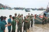 Quân và dân xã đảo Thổ Châu hối hả phòng tránh bão số 1