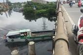 Nguy cơ nhiều cầu cũ, yếu bị tàu va là sập