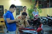 Đội CSGT Cát Lái bị mất trộm 3 xe máy vi phạm