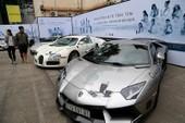 Dàn siêu xe trăm tỉ của ông chủ Trung Nguyên đổ bộ TP.HCM