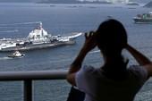 Tàu do thám Nga-Trung cùng theo dõi Mỹ