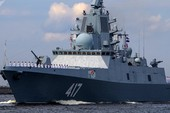 Giữa 40 tàu chiến Nga tham gia duyệt binh, có một 'ngôi sao'