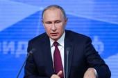 Ông Putin nói Tổng thống Ukraine đẩy thủy thủ vào chỗ chết