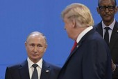 Ông Putin nói gì trong thư mừng năm mới gửi ông Trump?