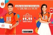 Ngày hội siêu mua sắm Shopee 11-11 tại Việt Nam