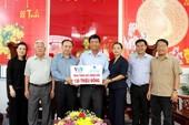 VWS ủng hộ 120 triệu đồng xây cầu nông thôn ở Long An