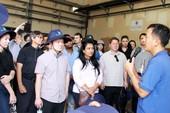 Sinh viên Hoa Kỳ thực tế ở Khu xử lý chất thải Đa Phước
