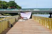 Cận cảnh con đường gỗ lim hàng chục tỉ bên sông Hương