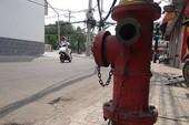 TP.HCM: Nguồn nước phục vụ cứu hỏa thiếu trầm trọng
