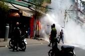 Chi tiết vụ nam thanh niên ngáo đá đốt cửa hàng gas ở Sài Gòn