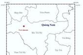 Liên tiếp động đất ở Bắc Trà My, Quảng Nam