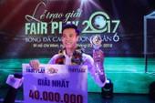 Giây phút Văn Toàn đoạt giải Fair Play 2017