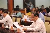 HĐND TP.HCM đang chất vấn các lãnh đạo chủ chốt