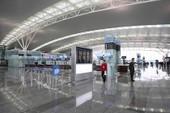 Nhà ga 900 triệu USD khai thác chuyến bay đầu tiên