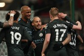 Highlights Stoke City - Man City (0-2)