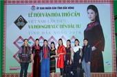 Hoa hậu Ngọc Hân, H'Hen Niê tham dự lễ hội VH thổ cẩm