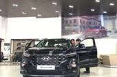 Hyundai Santafe 2019 được giới thiệu qua Tết dương lịch