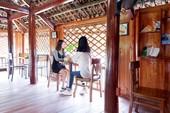 Giới trẻ thích thú quán cà phê nhà sàn độc đáo