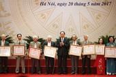 Trao Giải thưởng Hồ Chí Minh cho 113 tác giả