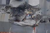 Vụ tàu chiến Mỹ đụng tàu hàng: 7 thủy thủ đã thiệt mạng