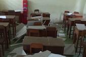 Sập la phông, 20 học sinh bị thương