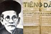 Quảng Ngãi tưởng niệm ngày mất cụ Huỳnh Thúc Kháng.