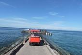 Đề nghị dừng đổ phế phẩm xuống khu bảo tồn biển Lý Sơn