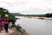 Lội qua sông Ba, 1 phụ nữ bị nước cuốn mất tích