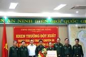 TP Đà Nẵng thưởng nóng cho Bộ đội biên phòng
