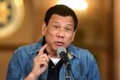 Ông Duterte dọa 'tát vào mặt' EU