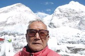 Cụ ông 85 tuổi thiệt mạng khi chinh phục Everest