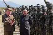 Ông Kim Jong-un thị sát tấn công giả định Hàn Quốc