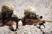 Lính bắn tỉa Anh diệt gọn 15 tay súng IS cách 1 km