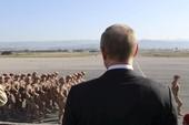Tiểu đoàn đầu tiên của Nga ở Syria về đến tổ quốc