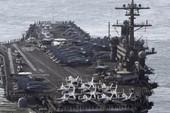 USS Carl Vinson qua biển Đông 'hội quân' tàu chiến Nhật