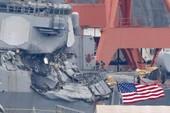 Tàu chiến Mỹ va chạm tàu hàng: Hé lộ tình tiết bất ngờ