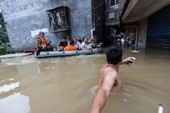 Lũ kinh hoàng, Trung Quốc sơ tán hàng trăm ngàn dân