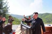 Ông Kim Jong-un: ICBM là quà quốc khánh Mỹ