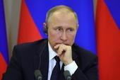Tổng thống Putin bất ngờ sa thải 8 tướng lĩnh