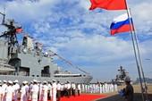 Tàu Trung Quốc tập trận bắn đạn thật ở Địa Trung Hải