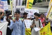 Biểu tình vụ người Việt bị cảnh sát Đài Loan bắn chết