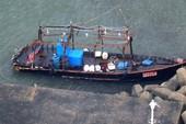 Nghi 8 người Triều Tiên dạt vào bờ biển Nhật