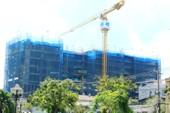 Dự án Riva Park cất nóc sau một năm thi công