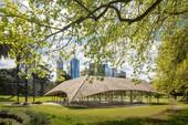 Nhà tre siêu đẹp giữa công viên của triệu phú Australia