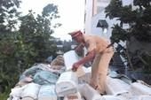 CSGT Tiền Giang bắt xe chở 469 máy lạnh cũ, nhập lậu